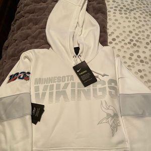 Nike Minnesota Vikings Hoodie - Small